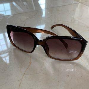 Giorgio Armani Brown Tortoiseshell Sunglasses